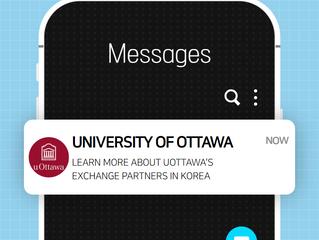University of Ottawa - Info on Exchange Opportunities in Korea
