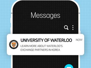University of Waterloo - Info on Exchange Opportunities in Korea