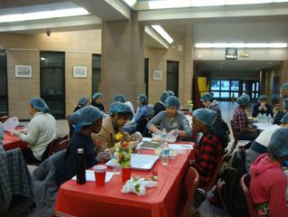 Korean Credit Program Kimbap making Event at Rick Hansen S.S