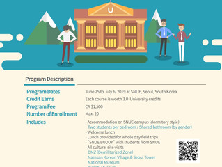 South Korea: Summer Program for University Students