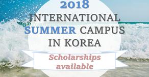 Summer Campus in Korea