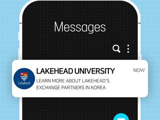 Lakehead University - Info on Exchange Opportunities in Korea