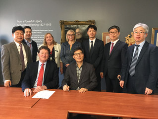 Fleming College signs MOU with Korean Council for University College Education