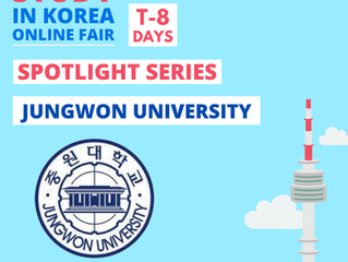 [Jungwon University] Study in Korea Fair Spotlight Series