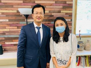밴쿠버 지역 고등학교 한국어 채택교 방문