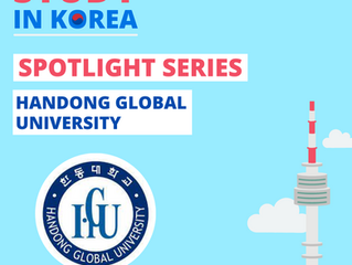 [Handong Global University] Study in Korea Spotlight Series
