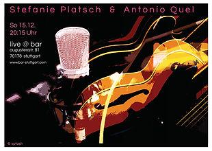 Antonio Quel und Stefanie Platsch