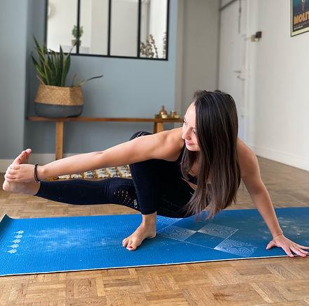 Professeure de yoga à Paris