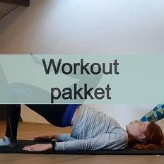 Workoutpakket downloaden. Klik hier.