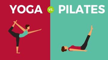 Het verschil en de gelijkenissen tussen pilates en yoga