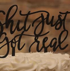 Cake Topper Option