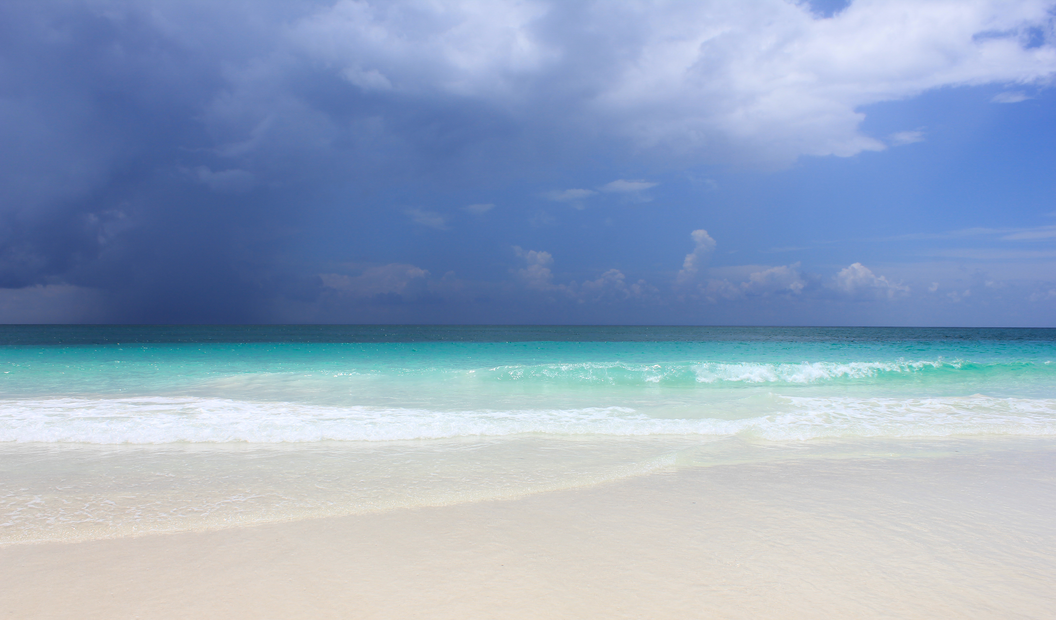 Before a storm, Tulum
