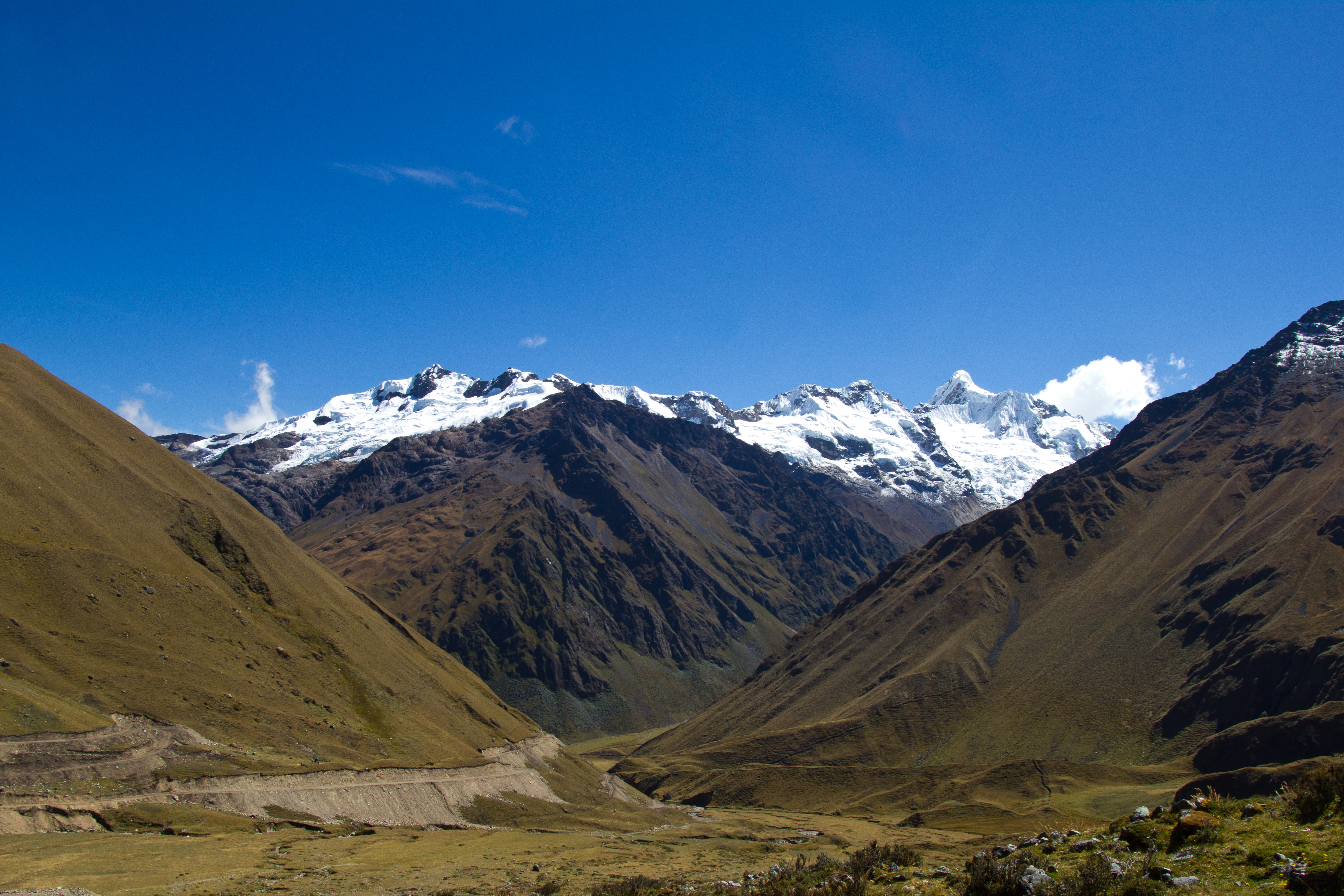 Snow peaks, Peru