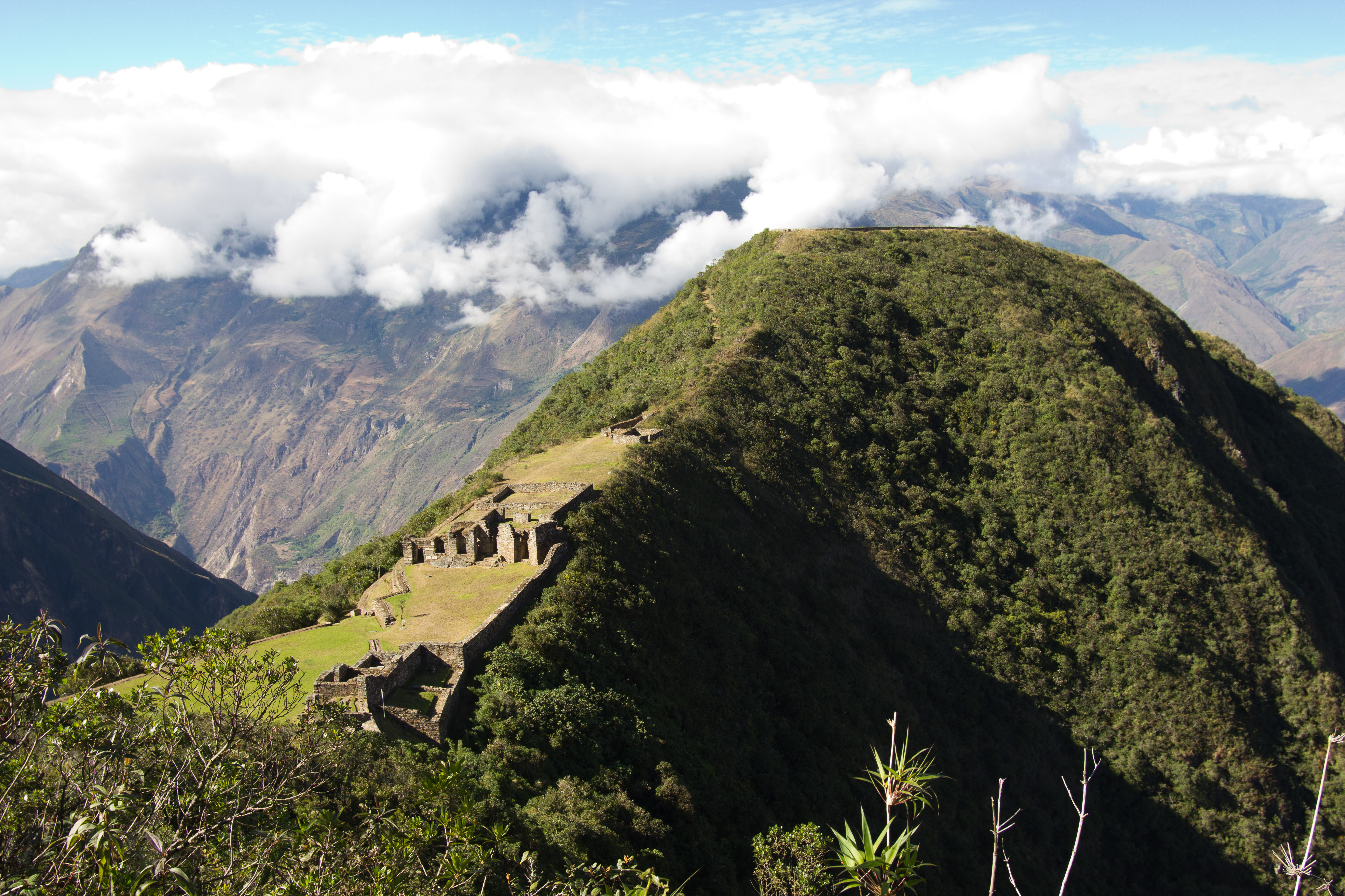 Incan city of Choquequirao, Peru