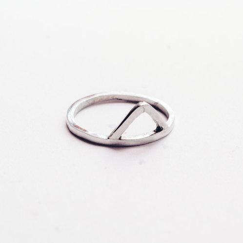 Anillo Triángulo