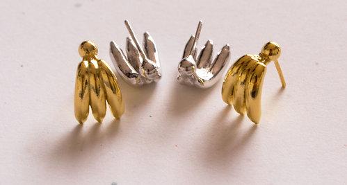 Banana&Pome earrings