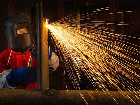 DISCUSS THE TYPES OF METAL WELDING PROCESS IN CONSTRUCTION