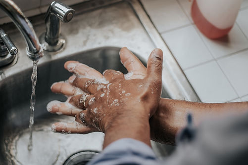covid washing hands