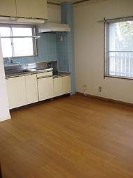 台所 キッチン ビニル床タイル