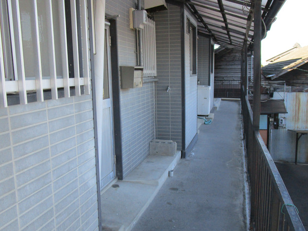 二階の通路