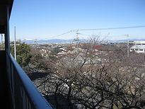 晴れた日には、伊吹山が見えるよ!