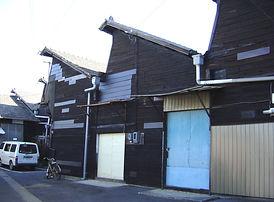 一宮 のこぎり屋根の倉庫です。作業場工場として利用できます。。