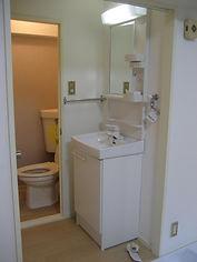 洗面化粧台 シングルレバー混合水栓
