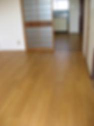 洋室 ビニル床タイル張