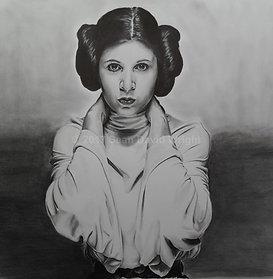 "The Princess Leia Organa of Alderaan Canvas (18"" x 24"")"