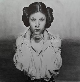 "The Princess Leia Organa of Alderaan (11"" x 14"")"