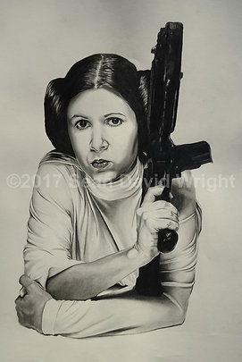 "The Princess Leia Organa, No. 3 (13"" x 19"")"