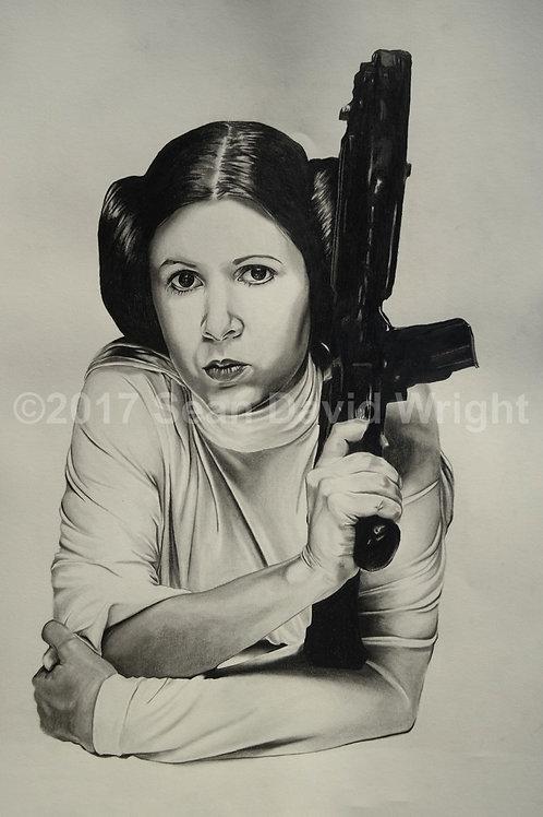 """The Princess Leia Organa, No. 3 (13"""" x 19"""")"""