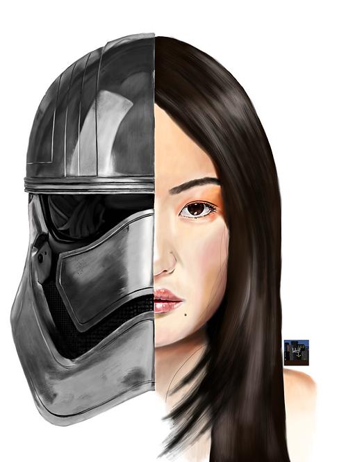 """Unmasqued Custom Portrait 18""""x24"""""""