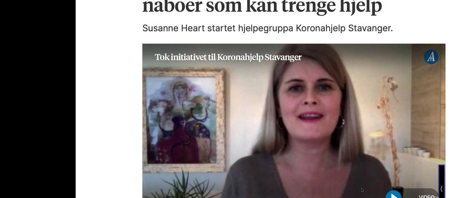 Nå må vi koronahjelpe hverandre i Stavanger