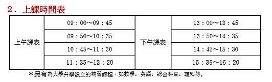 2時間割り(繁体).JPG