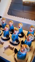 Margaret Thatcher cupcakes
