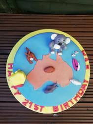 Australia cake