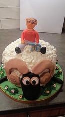 Ram sheep cake