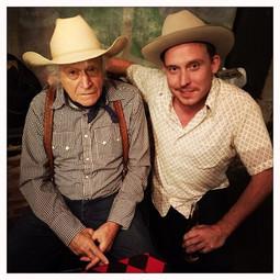 with Ramblin' Jack Elliott