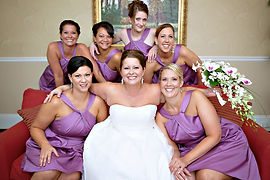 Fun Bridal Party Makeup