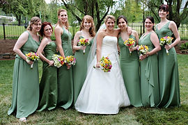 Park Tavern Bride and Bridesmaids Hair Styling and Wedding Makeup