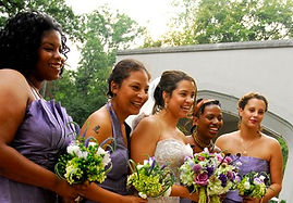 Diverse Bridal Party Makeup and Hair in Atlanta