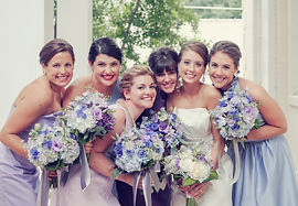 Bridal Party Wedding Makeup and Hair in Midtown Atlanta