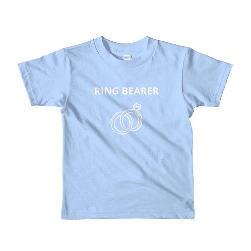 Ring Bearer Short sleeve kids t-shirt