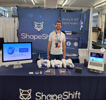 ShapeShift Conference Swag