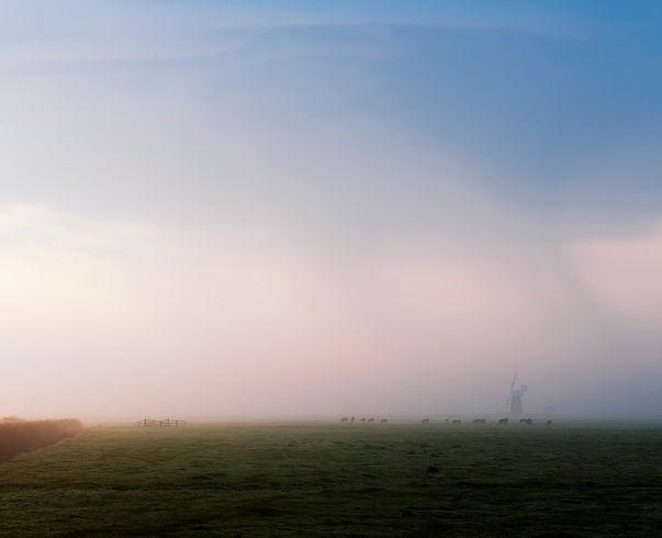 halvergate, norfolk, marshland, windmill, marsh, photography, fine art photography, Mark Cator