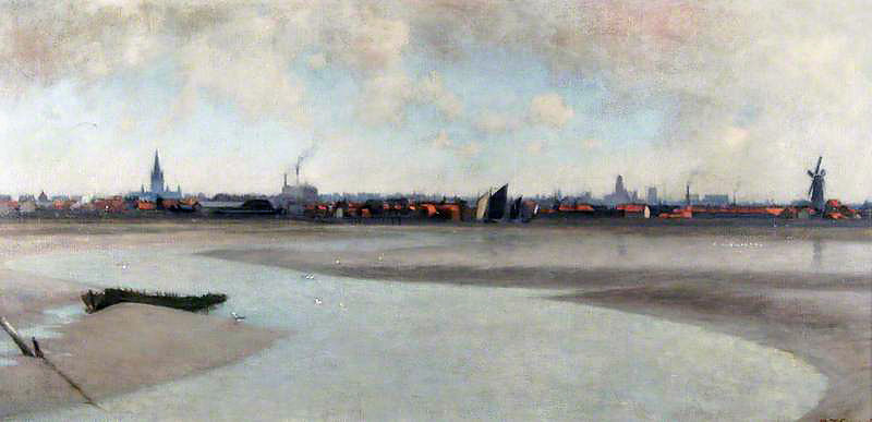 Thomas Frederick Goodhall, view of Great Yarmouth
