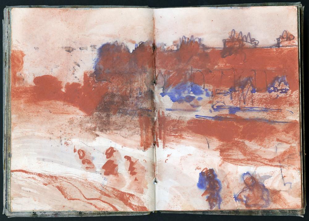 Sketch books, Bruer Tidman