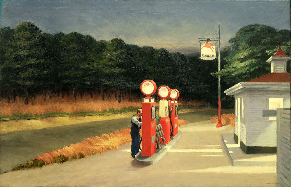 Edward Hopper, Gas, 1940