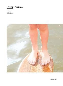 utter journal, photobook, Mark Cator, childhood